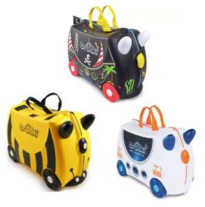 Trunki Pedro The Pirate, Skye The Spaceship or Bernard Bee 4 Ride On Case - £20 / £3.95 delivery @ Argos