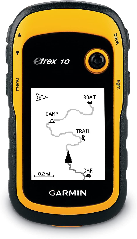 Garmin eTrex 10 Handheld GPS, £53.95 delivered at Argos