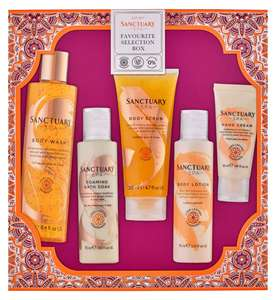 Sanctuary Spa Favourite Selection Box Gift Set - £10 / £13.50 delivered @ Boots