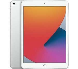 """APPLE 10.2"""" iPad (2020) - 128 GB, Silver opened DAMAGED BOX £353.93 at currys_clearance ebay"""