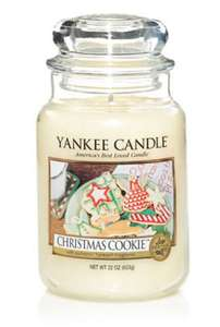 Large Yankee Candle - Christmas Cookie £14.95 delivered at Yankee Candle Shop