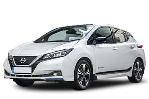 Nissan Leaf Electric - £214 per month for 3 year + £214 up front - 5k miles per year at LeaseLoco