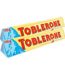 100g Toblerone Crunchy Almond 2 for £1/ Pure Irish Salted and Unsalted Butter 227g - 99p @ FarmFoods