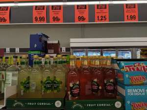 Robinsons Fruit Cordials 99p instore @ Lidl (Exmouth)