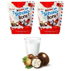 2 X KINDER SCHOKO BONS 320G PACKS £5 @ Yankee bundles (BB 04/08/2021)