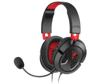 TURTLE BEACH Ear Force Recon 50 Gaming Headset - Black & Red £17.99 @ Currys
