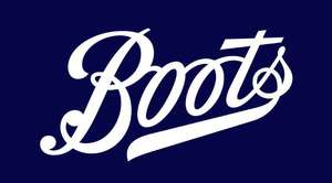 £5 off when spend £15 online / £20 in store on health care products with voucher in today's Daily Mail newspaper or online with code @ Boots