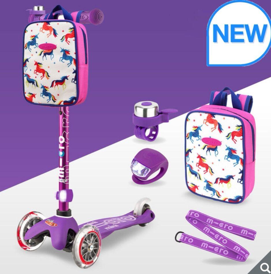 Micro Mini Scooter Deluxe Gift Set Bundle in Purple (2+ Years) £79.99 @ Costco