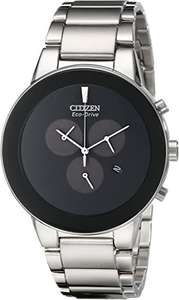 Citizen Men's Axiom Chronograph Silver Stainless Steel Watch - £109.99 / £113.94 delivered @ Argos