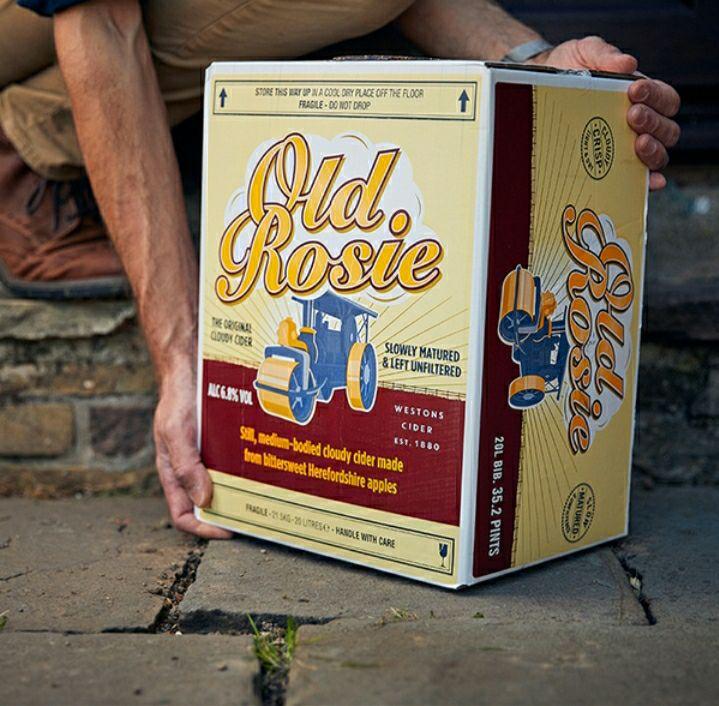 Old Rosie Cider 20% off 20L £46.40 delivered @ Westerns cider
