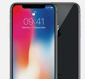 Apple iPhone X - 64GB Smartphone Space Grey - Good Refurbished Condition (O2 & Vodafone) - £278.99 Delivered @ Music Magpie / Ebay