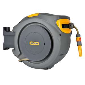 Hozelock Auto Rewind with hose pipe - 30m wickes online - £88 delivered @ Wickes