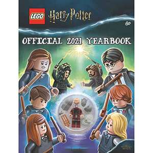 Lego Harry Potter Hogwarts Yearbook 2021 (Annual) Hardcover £4 (Prime) + £2.99 (non Prime) at Amazon
