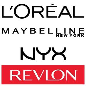 20% Off All L'Oreal, NYX, Maybelline & Revlon (700+ Products) - Stacks With Offers - Delivery £3/Free Over £10 @ Superdrug