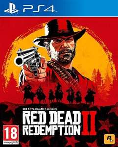 Red Dead Redemption 2 PS4 £15 + £1.99 del at CeX