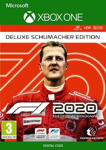 F1 2020 Deluxe Schumacher Edition [Xbox One / Series X/S - Argentina via VPN] £10.53 using code @ Eneba / World Trader