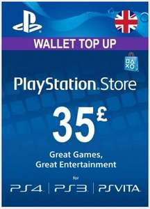 £35 PlayStation Network PSN Credit for £29.46 via Instant Gaming
