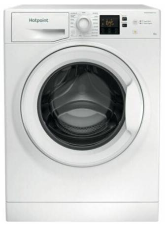 HOTPOINT Core NSWR 843C WK UK Washing Machine - White - Damaged Box - £174.30 @ eBay / Currys_clearance