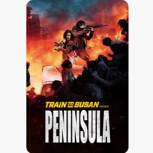 Train to Busan Presents Peninsula HD digital film £7.99 @ iTunes