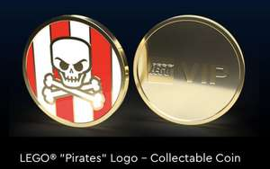Limited Edition Collectable Lego Pirate Coin 1150 Reward Points @ LEGO