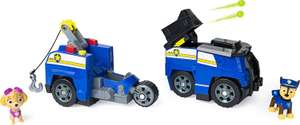 PAW Patrol Chase Split-Second 2-in-1 Transforming Police Cruiser Vehicle with 2 Collectible Figure £10 (Prime) + £4.49 (non Prime) at Amazon