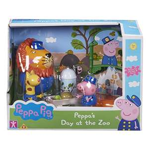 Peppa Pig Day At the Zoo Leo The Lion Set £6.50 Prime / £10.99 Non Prime @ Amazon