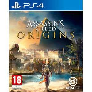 Assassins Creed Origins PS4 Used - £8.36 with code @ Music Magpie