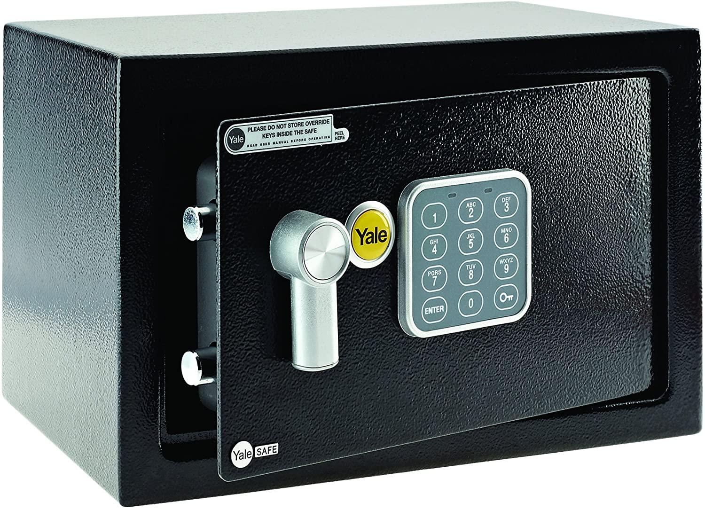 Yale YSV/200/DB1 Small Value Safe, Digital Keypad, 8 Litre Capacity £23.99 @ Amazon