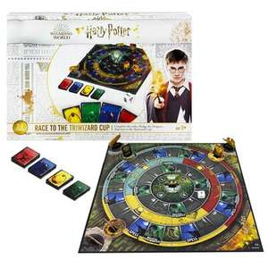 Harry Potter Race To The Triwizard Cup Board Game £15+ delivery is £2.99 or Free with £30 spend @The Works