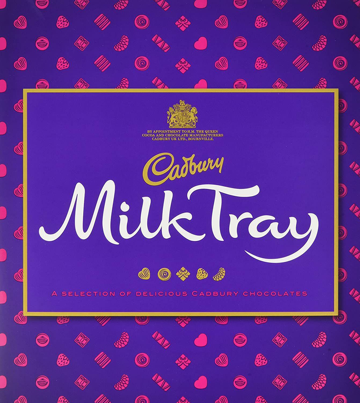 Cadbury Milk Tray Chocolate Box, 360g £3 (£4.49 p&p non prime) @ Amazon