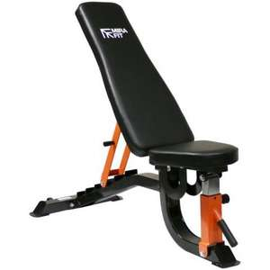 MIRAFIT M2 ADJUSTABLE WEIGHT BENCH £154.90 Delivered @ Miraft.co.uk