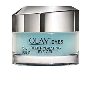 Olay Eyes Deep Hydrating Eye Gel For Tired Dehydrated Skin With Hyaluronic Acid, 15ml £10 on Amazon, £9.50 with S&S £14.49 Non Prime