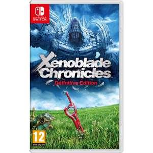 Nintendo Switch Xenoblade Chronicles: Definitive Edition £28 @ AO