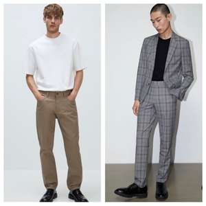 All Sale Trousers/Chinos (100+ Styles) Now £9.99 - Delivery £3.95/Free Over £50 @ Zara