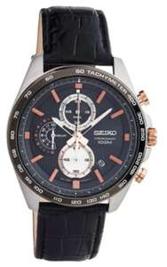 Seiko SSB265P1 Stainless Steel Chronograph Brown Leather Strap Watch - £129.99 @ F.Hinds