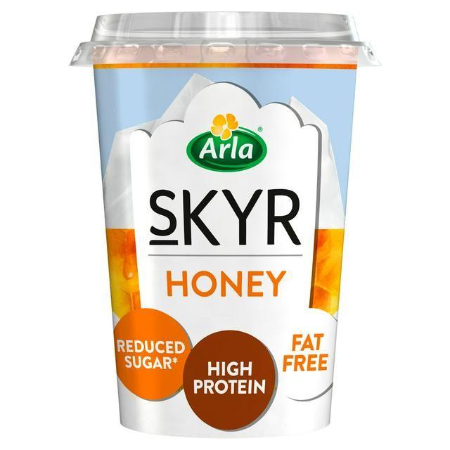 Skyr Honey 3 for £1 at Farmfoods Wrexham