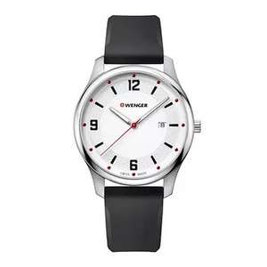 Wenger City Active Men's Black Silicone Strap Watch £38.39 at H Samuel