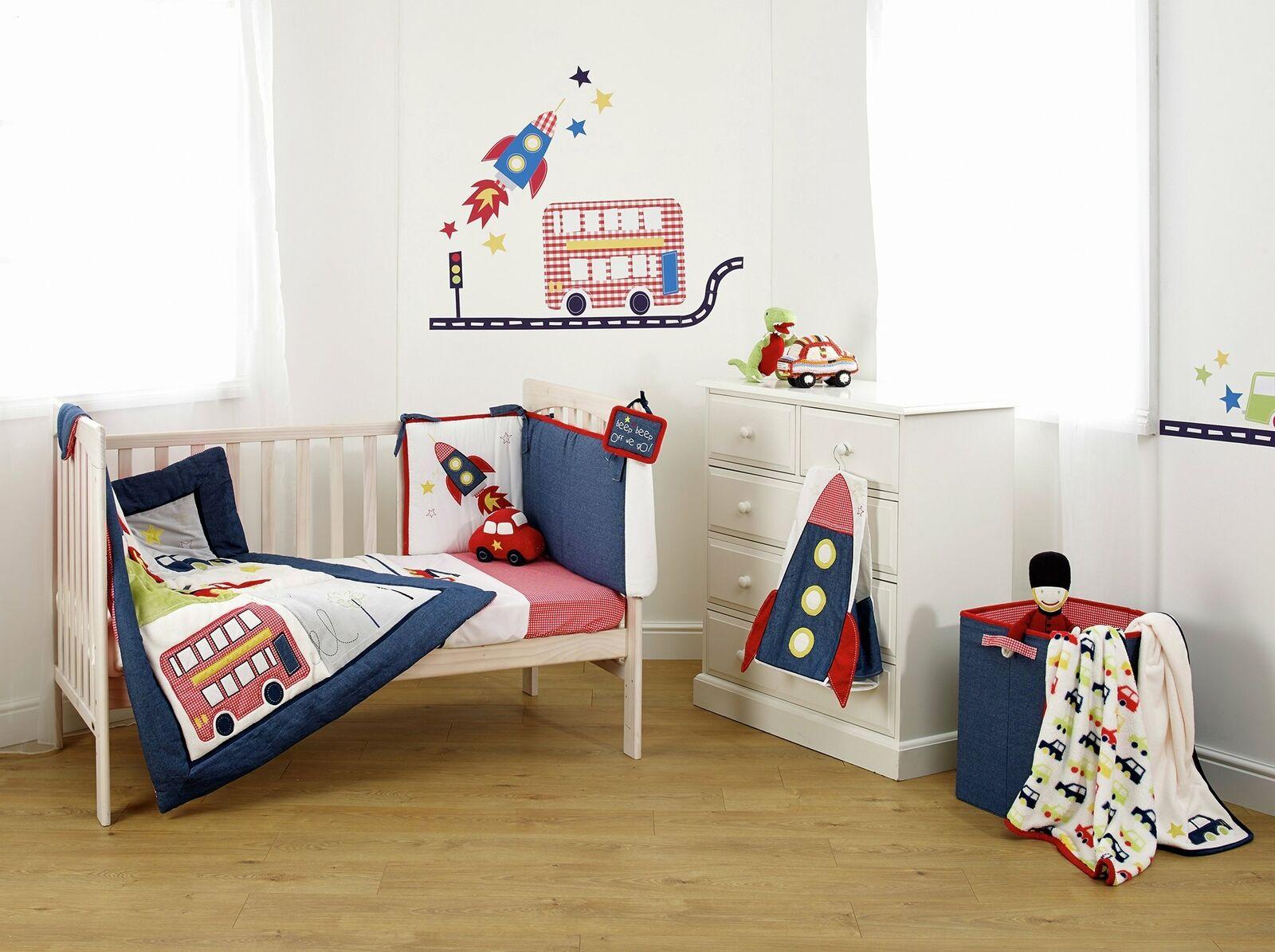 Suncrest Fetch the Engine Cot Bed Nursery Bedding Set - £17.99 delivered @ Argos / ebay