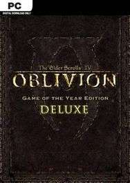 [Steam] The Elder Scrolls IV: Oblivion GOTY Deluxe Edition (PC) - £2.29 @ CDKeys