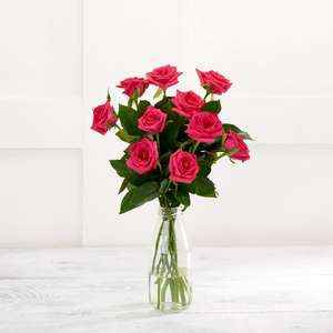 Sainsbury's Sweetheart Roses Bouquet - £2.49 (Delivery Fee / Min Spend Applies) @ Sainsbury's