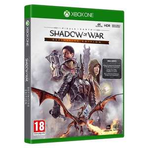 [Xbox One] Middle-Earth Shadow of War Definitive Edition - £10.59 delivered @ 365games