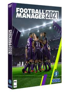 Football Manager 2021(PC) - £20 disc and digital code combo @ Brighton & Hove Albion Club Shop