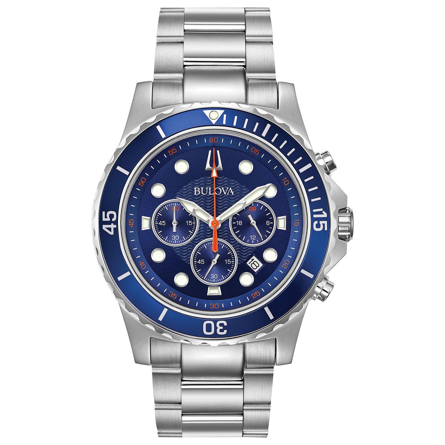 Bulova Men's Classic Blue Dial Bracelet Watch £99.99 at H.Samuel