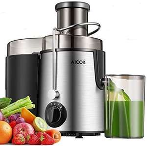 Juicer Centrifugal AICOK Juicer Machine BPA-Free [Energy Class A+++] £32.29 Sold by H-Sense and Fulfilled by Amazon