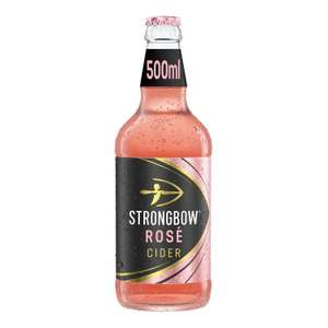 Strongbow Rosé cider 500ml for £1 at Sainsburys (minimum basket / delivery charge applies)