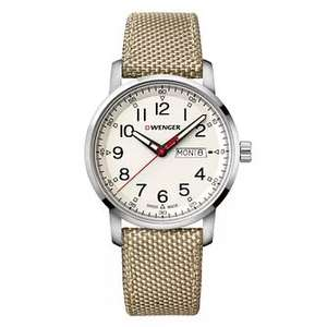 Wenger Attitude Heritage Cream Dial Nylon Strap Watch £72 with code at H Samuel