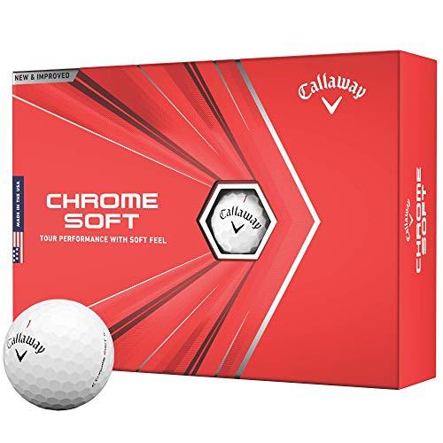 Callaway Chrome Soft Golf Balls 2020 Model £25.69 at Amazon