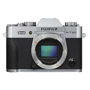 Fujifilm X-T20 Digital Camera Body - Silver Brand new £349 at Wex Photo Video