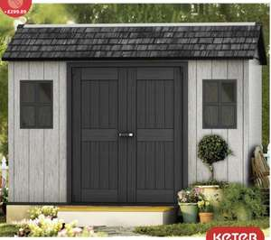 """Keter Oakland 11ft x 7ft 6"""" (3.4 x 2.3m) Side Door Shed - £899.99 @ Costco"""