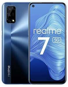 realme 7 5g 120Hz Simfree Unlocked Android Smartphone 5000mAh Battery with 30W Fast Dart Charge 6+128GB Dual Sim, NFC - £249 @ Amazon